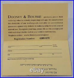 Dooney & Bourke Sketch Tote Walt Disneyworld Medium Coated Canvas & Leather Trim