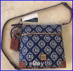 Dooney & Bourke Walt Disney World Club 33 Exclusive Crossbody Bag Purse Handbag