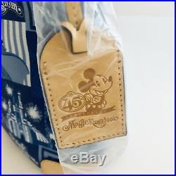 Dooney & Bourke Walt Disney World Magic Kingdom 45th Anniversary Letter Carrier