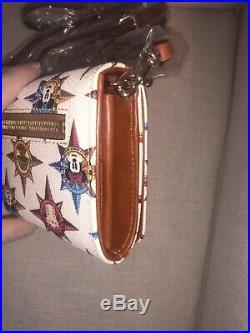 Dooney & Bourke Walt Disney World Parks Passport Crossbody Wallet Purse NWT