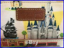 Dooney & Bourke Walt Disney World WDW Retro Letter Carrier Crossbody Purse Dumbo