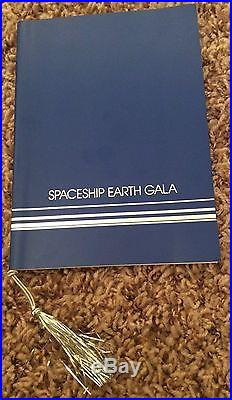 Epcot Rare Mint Spaceship Earth Gala October 22, 1982 Walt Disney World
