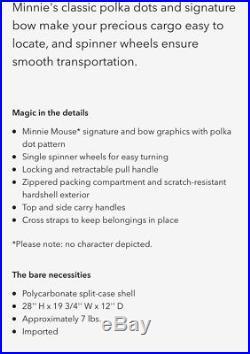 Genuine Walt Disney World Suitcase Large