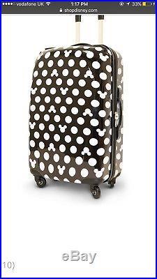 Genuine Walt Disney World large disney suitcase
