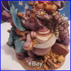 Harmony Kingdom Walt Disney World Epcot Journey Into Imagination Figment RARE