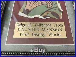 Haunted Mansion Wallpaper Prop from Renovation Ride Disney World Disneyland Walt