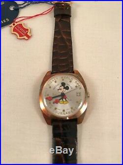 Helbros Mickey Mouse 1971 Wrist Watch Walt Disney World Open Golf Tournament