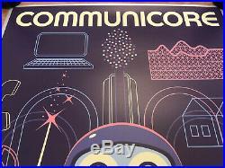 IN STOCK EPCOT COMMUNICORE SERIGRAPH Poster LIMITED ED. 50/200 Walt Disney World