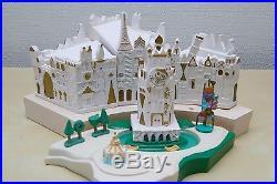 IT'S A SMALL WORLD + 6 Figures MINIATURE MODEL Disneyland Walt Disney art