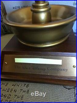 JIMINY CRICKET WALT DISNEY WORLD CAST MEMBER 30 year service award