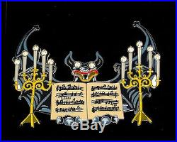 JUMBO LE Disney Pin Haunted Mansion Candle Music Happy Haunt Ball 999 Gargoyle
