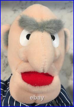 Jim Henson's Muppet Vision 3-d Statler & Waldorf Plush Dolls Walt Disney World
