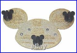LE 750 JUMBO Disney PinMickey Mouse Ear Hat Uncle Sam Patriotic USA Americana
