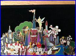LE SUPER JUMBO PinRetro Walt Disney World Resort Mickey Minnie Tinker Bell Dale