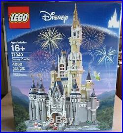 Lego Cinderella's Castle Walt Disney World Set Mickey Mouse 71040 Sealed