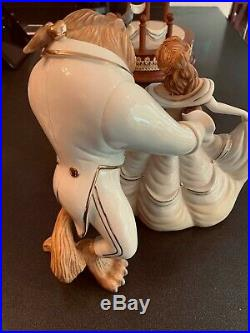 Lenox Beauty and the Beast Limited Numbered Figurine Sculpture Walt Disney World