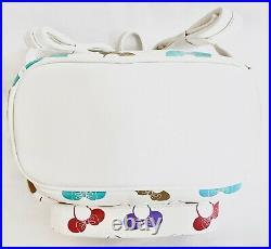 Loungefly Disney Parks Minnie Mouse Ear Headband Mini Backpack Ears Holder Bag