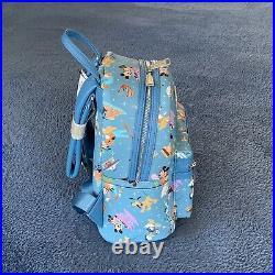Loungefly Walt Disney World Mickey Mouse & Friends Mini Backpack NWT Disney Park