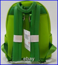 Loungefly x Walt Disney World Parks Kermit Muppets Mini Backpack Bag Cosplay NEW