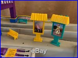 Monorail Switch Station track Walt Disney World train hotel box layout playset
