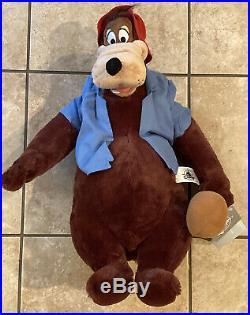 NEW Disney Parks Splash Mountain Brer Bear 17 Plush Brer WDW NWT Walt World