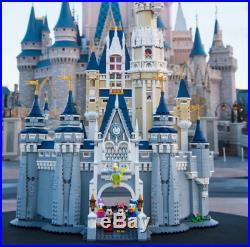NEW The Disney Castle Set 71040 Walt Disney World Cinderella + Instruction