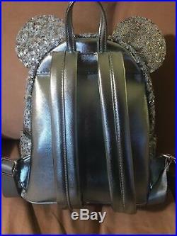 NEW Walt Disney World Parks Loungefly FROZEN Arendelle Aqua Sequin Backpack
