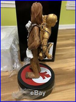 NEW Walt Disney World Star Wars Weekends 2015 Goofy as Chewbacca Med Big Figure