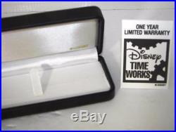 NIOB 25th Anniversary WALT DISNEY WORLD Watch Sold ONLY10/01/1996 CertificateEL1