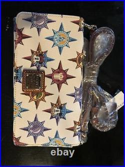 NWT Disney Parks Walt Disney World Passport Crossbody Wallet by Dooney & Bourke