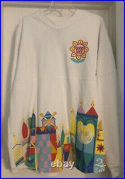 NWT IT'S A SMALL WORLD Spirit Jersey Walt Disney World Exclusive Size XL