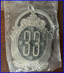 New CLUB 33 Keychain Prop Ride Disney World Disneyland Walt Club33 Magic Kingdom