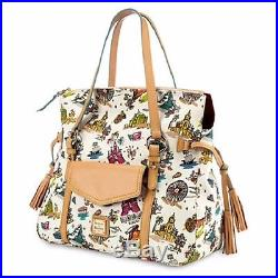 New Dooney & Bourke Walt Disney World Resort Disneyana Smith Purse Bag