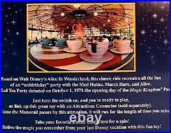 Nrfb Walt Disney World Disneyland Monorail Mad Tea Party Interactive Playset