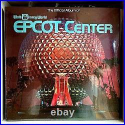 Official Album Walt Disney World Epcot Center 1983 Vinyl Disney Records Sealed