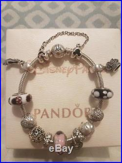 Park Exclusive Walt Disney World Pandora Bracelet With Charms RRP $755