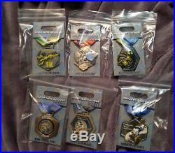 Pin Run Walt Disney World Marathon Weekend Set o 6 2020 Medals Goofy Anniversary