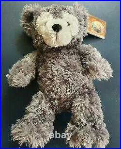 Pre Duffy teddy bear! Soft toy! Walt Disney world! Grey! With tags! Charity