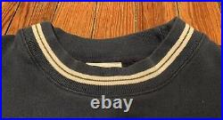 RARE 90s Vintage Walt Disney World Tour Mickey Sweatshirt Blue Crewneck Size L