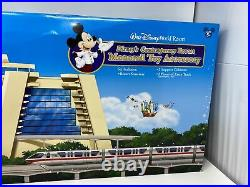 RARE Disney's Contemporary Resort Monorail Toy Playset withBox