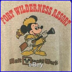 RARE Fort Wilderness Resort Walt Disney World Shirt Vintage T-Shirt