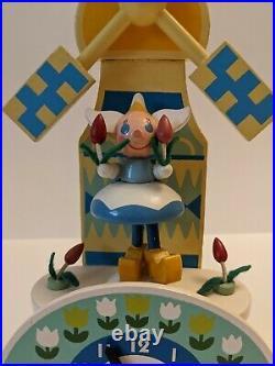 RARE Original It's a Small World Clock Mary Blair Walt Disney Prod. Works