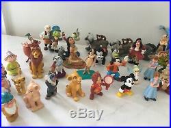 RARE Vintage Walt Disney World WDW Mini Figurines Entire Large Lot Of 76