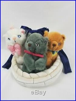 RARE Walt Disney World Disneyland Paris Aristocats Kitten Toulouse Berloiz Plush