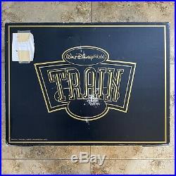 RARE Walt Disney World Golden Train Set Limited Edition No. 94 of 300