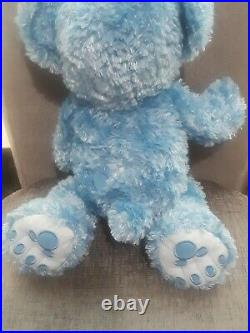 RARE Walt Disney World Hidden Mickey Pre-Duffy Bear 16 Blue
