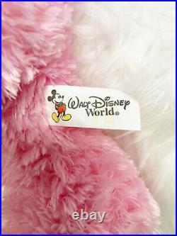 RARE Walt Disney World Hidden Mickey Pre-Duffy Bear 16 PINK
