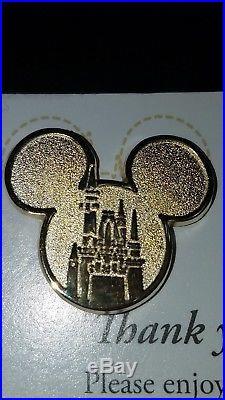 RareWalt Disney World Cast Member Award Global Ambassador Program Castle Pin