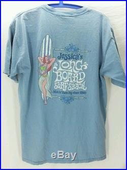 Rare Walt Disney World L Large Jessica Rabbit Longboards Makin' Em Big T-Shirt
