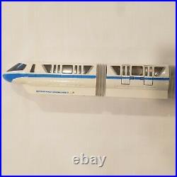 Rare Walt Disney World Monorail Blue Playset